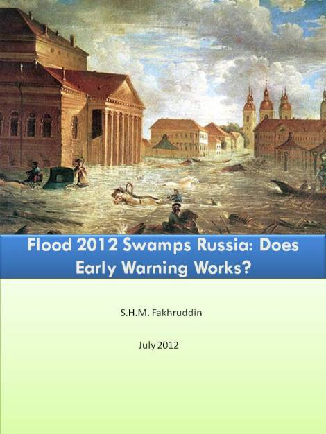 Flood 2012 swamps Russia: Does Early Warning Works?